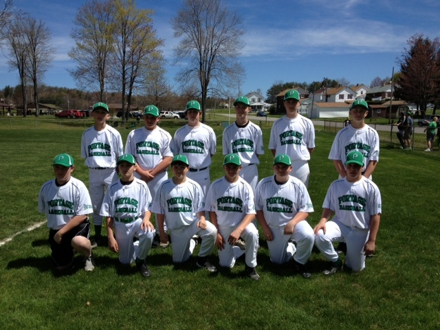 2013 Cambria Twp. Pony League Opening Day  Portage-the Tire Shop