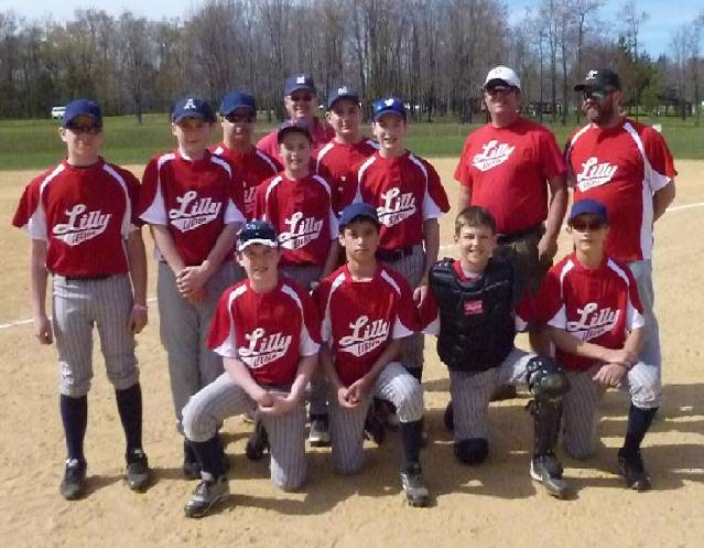 2013 Cambria Twp. Pony League Opening Day  Lilly Red