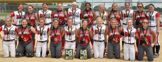 Ohio Edge 18U Kelemen and Dynamites Group Photo
