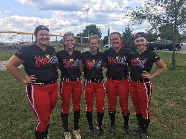 These ladies are headed off for their first year of college...good luck ladies!  18U Kelemen