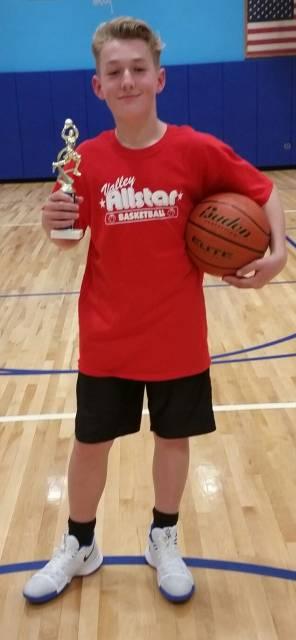 2018-Basketball-Intermediate Boys Three-Point Shootout Champion