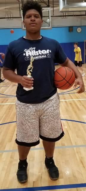 2018-Basketball Senior Boys Three-Point Shootout Champion