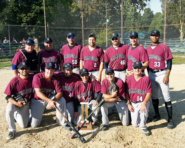 2016 35+ Provincial Champs - Scarboro Maroons