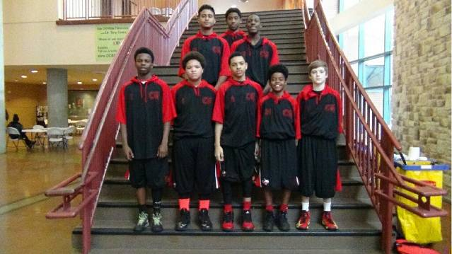 <font color=red>Front Row:</font> Mike, Q, RJ, Lil Jay & Grant <font color=red>Back Row:</font> Josh, Nylez & Xav