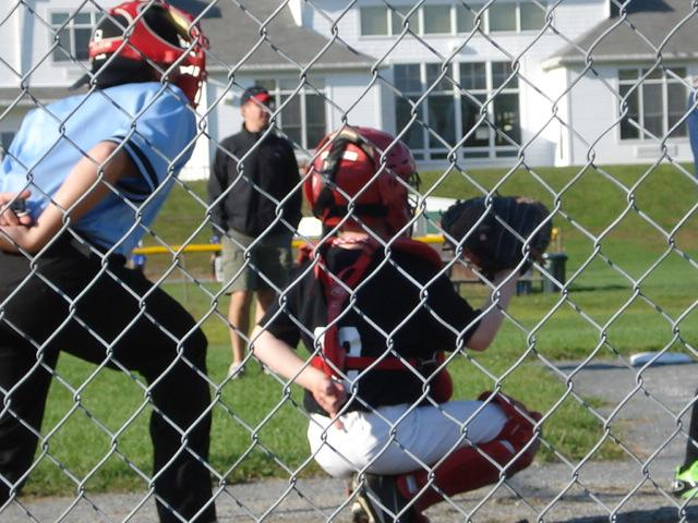 A catcher in the making!!