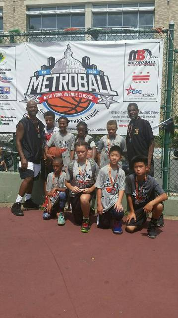 MoCo Blacktop E.S. Division Team - Runner Ups in their division