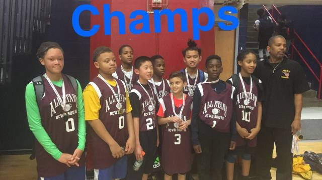2017 6th Grade All-Star Champions