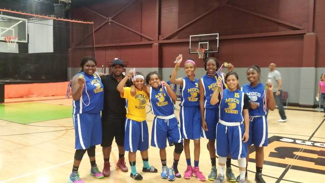 MoCo Lady 8th Grade Slam City Let Your Playin Do Your Talkin Tournament