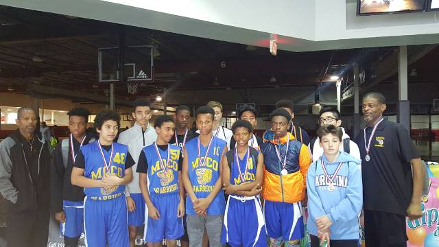MoCo Winter 2016 14u Team take the Silver in Holiday Tournament