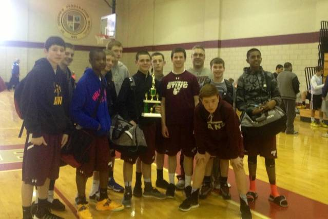 8th Grade St. Joe''s Prep Tournament Champions