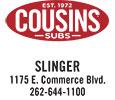 Cousins Subs - Slinger