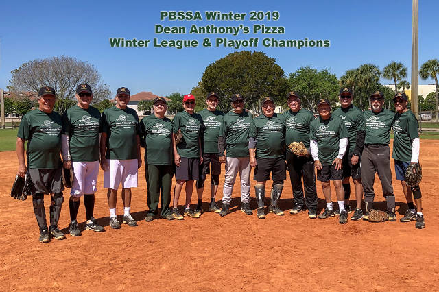 Palm Beach Senior Softball Association - (Boynton Beach, FL