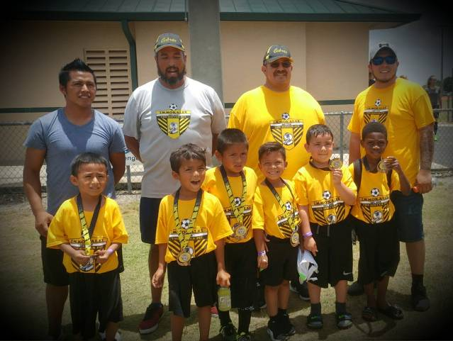 First tournament for our newest players. U6 is up and coming and ready to carry on.