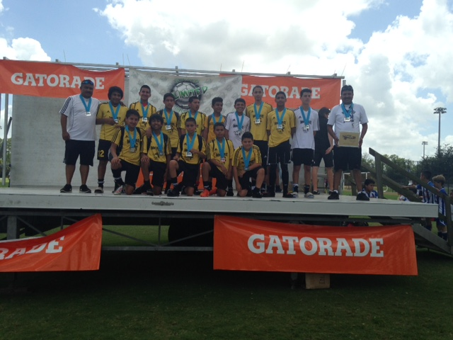 U14 Boys Second Place Sweetbay Memorial Day Tournament 2015