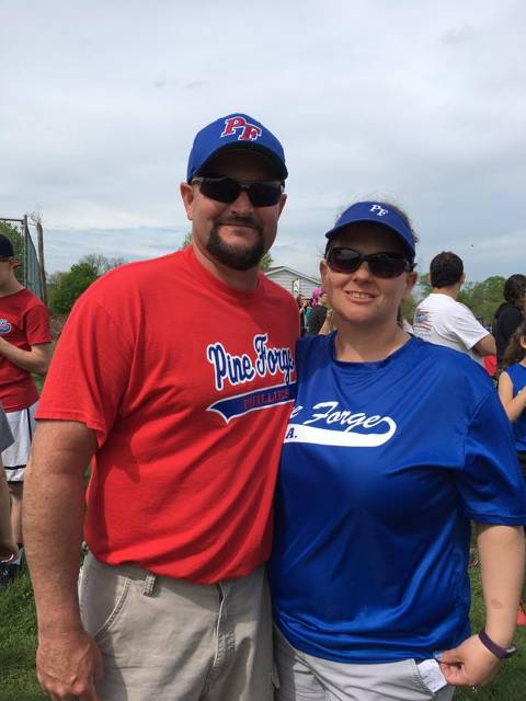 Coaches Bruce & Melanie Hansley