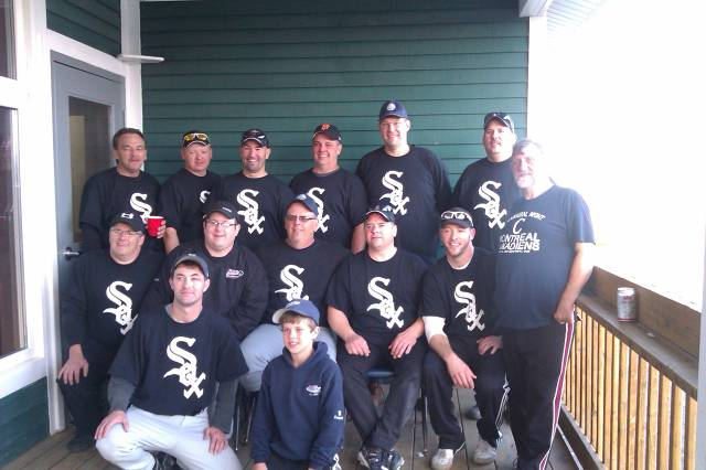 """2014 Men's 35+ Provincial Champs!!!