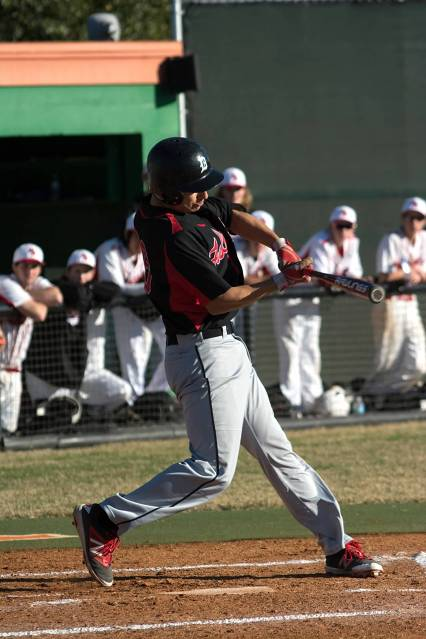 Sophomore Ben Garcia was named to the All Tourney Team for his effort at the plate.  Garcia produced 3 of Dunedin's 9 hits in this tourney.