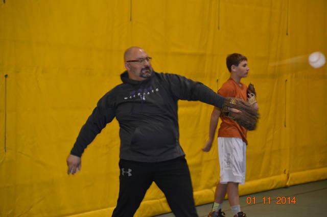 Coach M Bringin' the Heat