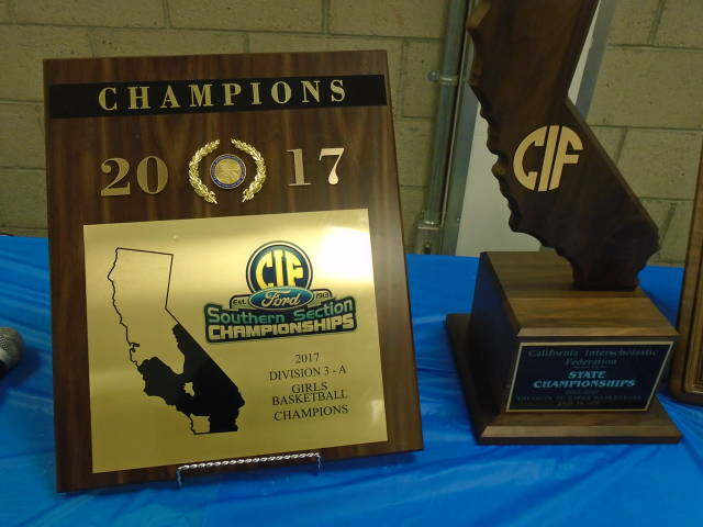 2016-2017 Div 3 CIF Championship Southern Regional State Champ