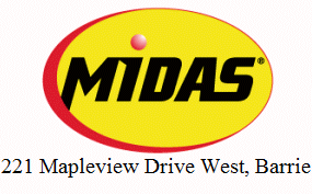 Midas - Mapleview Dr W Barrie