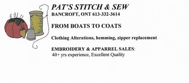 Pat's Stitch and Sew
