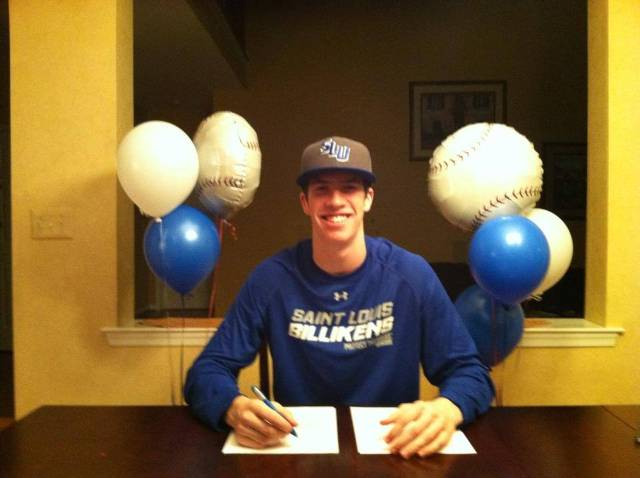Gamers Pitcher Connor Lehmann Signing His NLI to play for St. Louis University