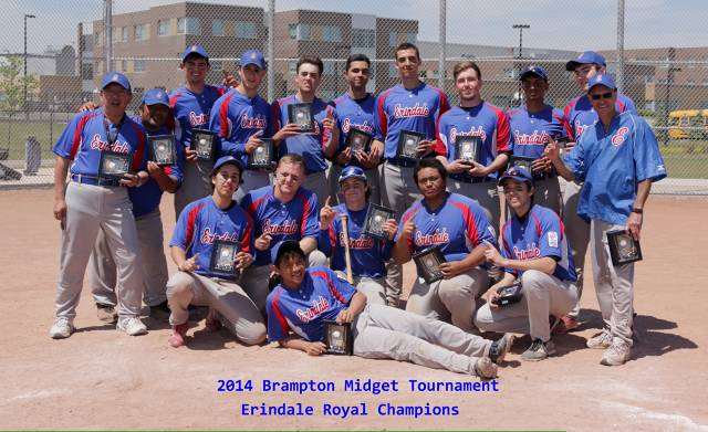 Erindale Royals- Brampton Midget AA Select Tournament Champions
