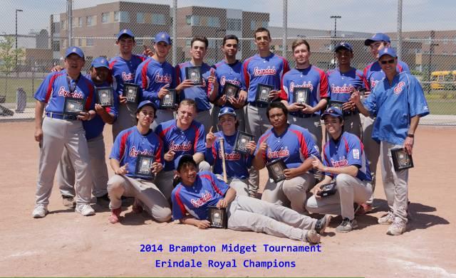 Erindale Royals- Brampton Midget AA Select Tournament Champions