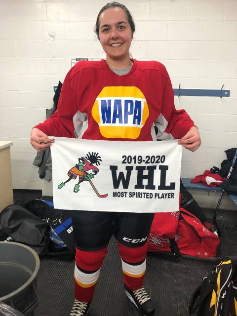 Most Spirited Player for NAPA - Jillian Marquis