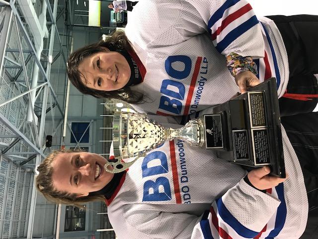 BDO Team Captains! Jennifer Bedford and Jennifer Walker