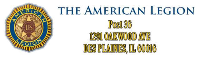 American Legion DP Post 36