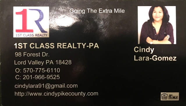 1st Class Realty PA - Cindy Lara-Gomez