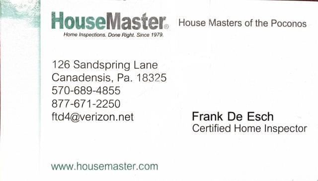House Masters of the Poconos