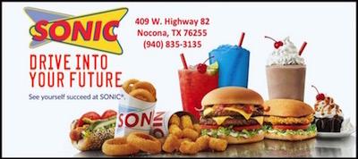 Sonic Nocona, TX