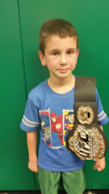 Congrats Brody!  November 30-December 4