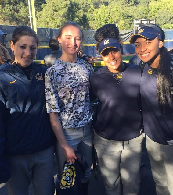 CAL Players with Grace at Cal Camp