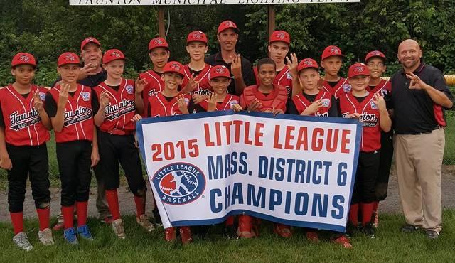 2015 12U District 6 Champions