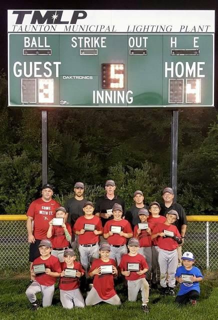 9U Jimmy Fund Team Champions