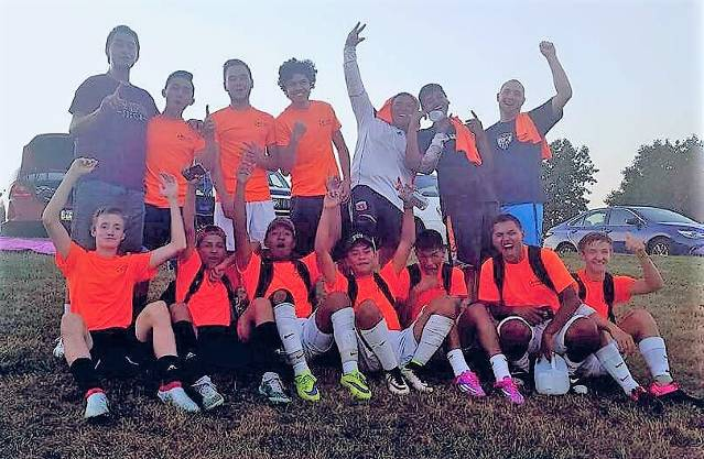 1-800-Got Junk (New Oxford HS) High School Division Champions