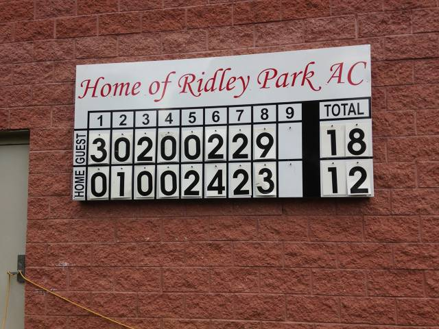 Scoreboard from the All-Star Game