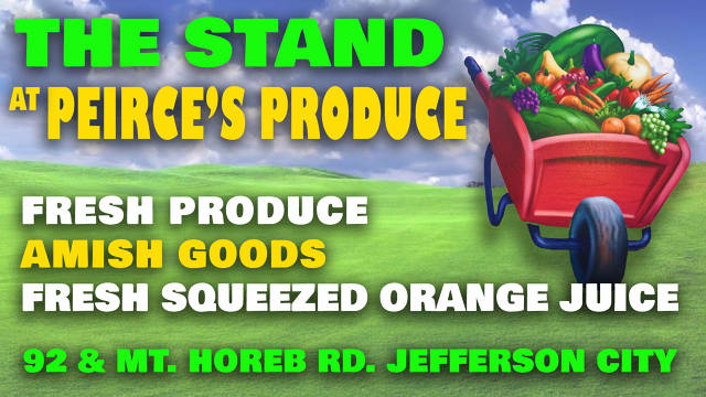 The Stand at Peirce's Produce