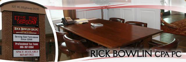 Rick Bowlin - CPA PC