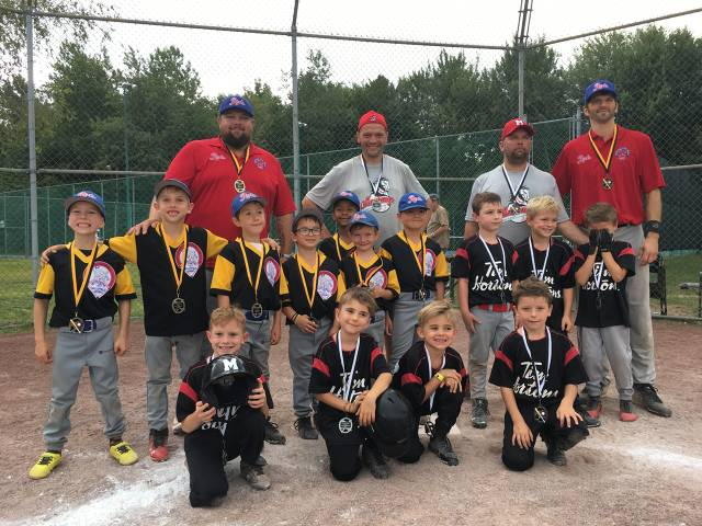 2018 Atome C: Valleyfield Reds-Champions & Saint Lazare Mustangs-Finalistes