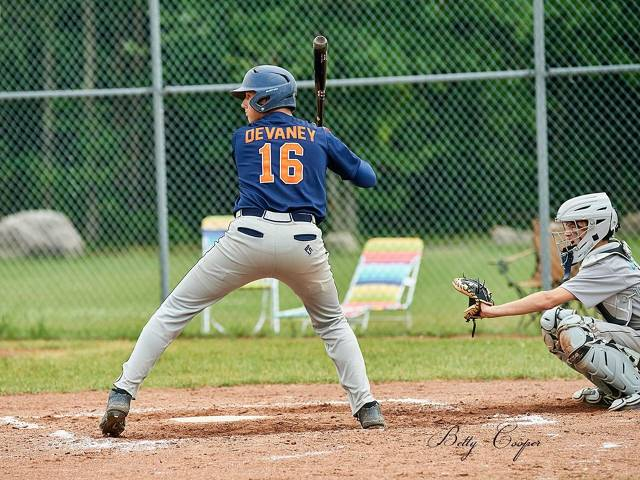 2019 NCOBA Player of the year (15U and over): Colin Devaney in action for the Seaway Surge
