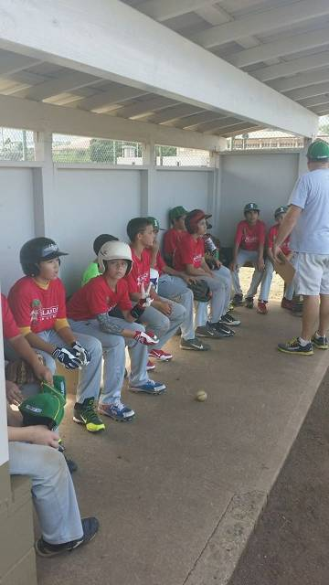 The Islanders were formed in 2013, this was our first game vs. Central Maui All Stars