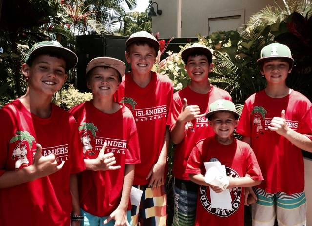 Boys out Fundraising for their Arizona Spring Training Trip