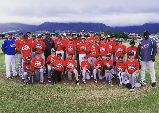 Coach LC Smith and the Islanders baseball family hosted MLB Legend Reggie Smith of the Los Angeles Dodgers on Maui for a once in a lifetime professional baseball clinic.