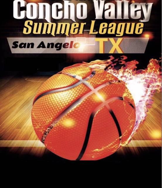 Concho Valley San Angelo Summer League Basketball