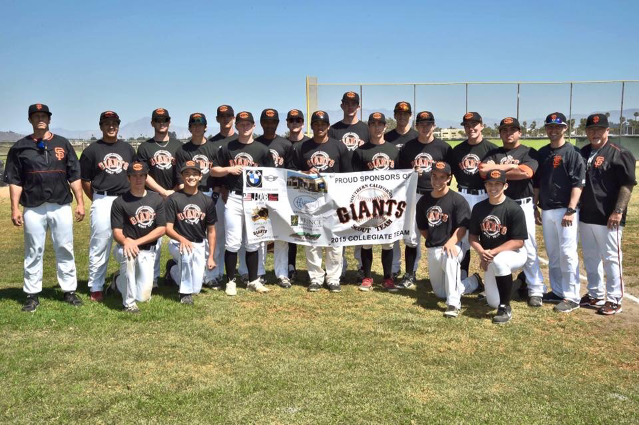 College Team 2015 (formerly SCGiants) in the VCJCBL