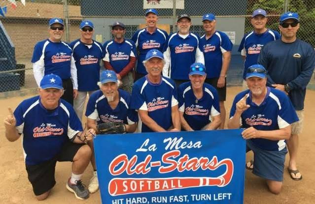 San Diego County Senior Softball Association Tuesday League - (San